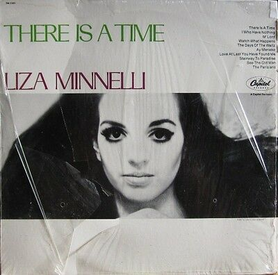 Liza Minnelli There Is A Time Capitol Records Vinyl LP