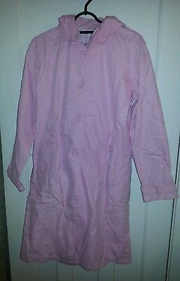 Marks and Spencer Girls Pink Summer Coat Age 15 - 16 Years