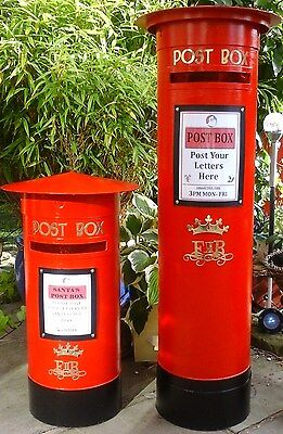 ROYAL MAIL PILLAR BOX, Weddings,Birthday,Party,Schools.Any Color,Reusable To BUY