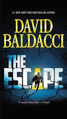 * THE ESCAPE * By DAVID BALDACCI (Very Good condition - PAPERBACK - 2015 )