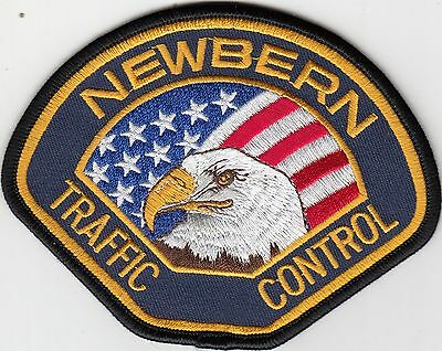 Newbern Traffic Control Tennessee Tn Police Patch