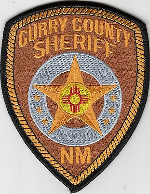 Curry County Sheriff New Mexico Nm Police Patch