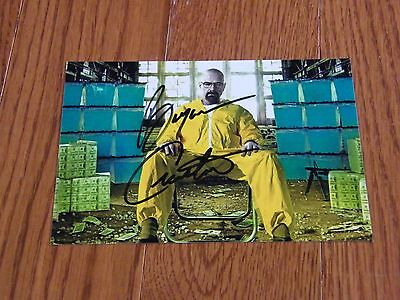 Bryan Cranston Autographed 4x6 Photo Hand Signed Breaking Bad