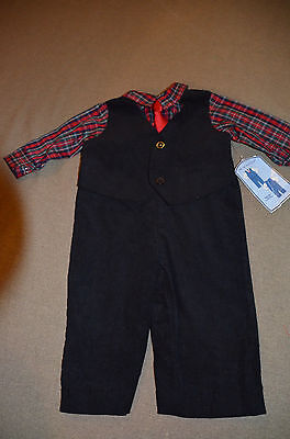 Nwt Holiday Editions Boys Suit Size 6-9 Mos