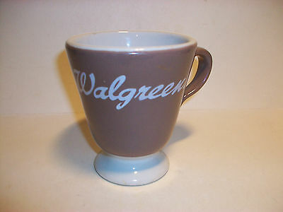 Walgreens Drug Store Restaurant Ware Lunch Counter Mug Cup Sterling China 1969