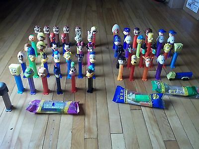 huge lot of collectible PEZ dispencer Slovenia Hungary