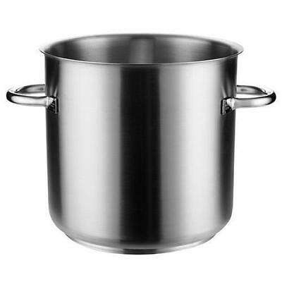Stockpot w No Lid, 33.6L, Stainless Steel, Pujadas 'Top Line', Stock Pot Cooking