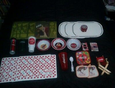 Coca-Cola egg timer and kitchen lot