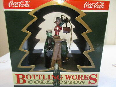 Coca-Cola Bottling Works Collection - Christmas Ornaments - Coke - 1992