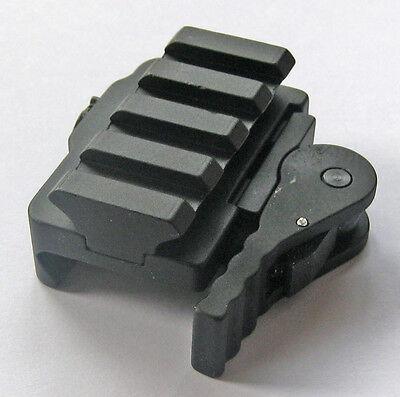 New Tactical Compact Quick Release Mount Adapter fit 20mm Picatinny Rail Base 95