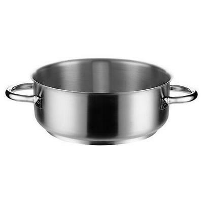Casserole Dish w No Lid, 19.5L, Stainless Steel, Pujadas 'Top Line', Pot / Pan