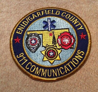 OK Enid/Garfield County Oklahoma 911 Communications Patch