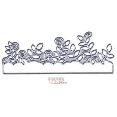 Grass Leaves Design Cutting Dies Stencils for DIY Scrapbooking Album Paper Craft