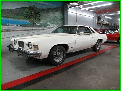 1973 Pontiac Grand Prix  Please scroll down and look at all Detailed Pics and Carfax Report