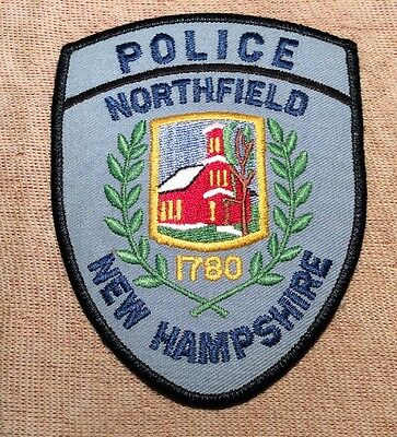NH Northfield New Hampshire Police Patch