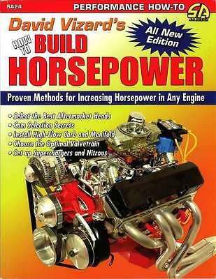 S-A BOOKS 24 How To Build Horsepower