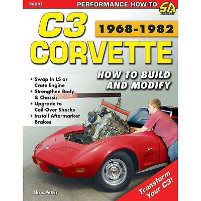 S-A BOOKS SA247 C3 Corvette Build/Modify