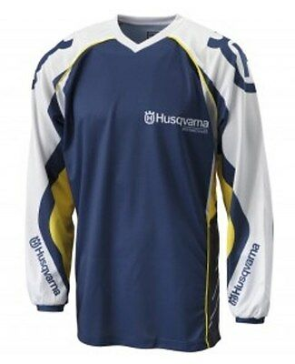New Husqvarna 2014 Hqv Racing Jersey Mx Off-Road Shirt Size Large Now $39.99
