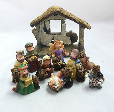 Yorkshire Terrier Holiday Yorkie Dogs NATIVITY SET Collectible Figurine XMAS