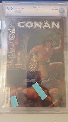 Conan #24 Cbcs Nude Variant Graded 9.8 White  Pages!! Rare Book/