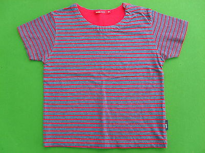 Bossini Blue with Red Strips Top in very Good Condition