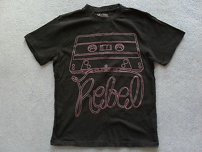 Rebel Black T-Shirt in Very Good Condition