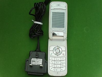 Siemens SF64 (Unlocked) White Mobile Phone (Excellent Condition & Working)