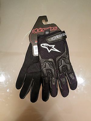 NEW Alpinestars SMX-3 Air Leather & Mesh Motorcycle Street Gloves (Many Sizes)