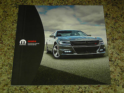2015 Dodge Charger Accessories Brochure Mint! 12 Pages