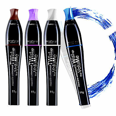 Natural 3D Fiber smudge-proof Mascara Eyelash Long Curling Lashes Extension