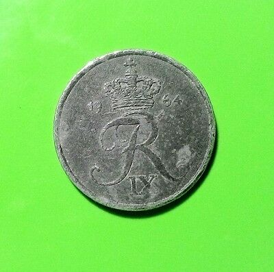 Denmark KM#839 coin 1 ore 1964 VF combined shipments