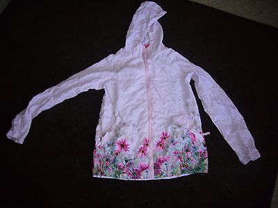 Jack in a Pack girls waterproof jacket with floral pattern Size 11_12