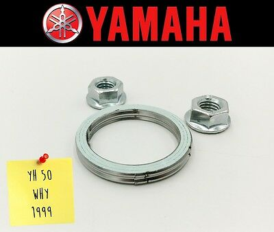 Exhaust Manifold Gasket Repair Set Yamaha YH 50 Why 1999 (Incl. Nuts)