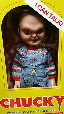 Chucky talking  18 inch high unscarred in box Good Guys box New Childs Play