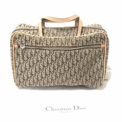 Christian. Dior Trotter Travel Pouch Bag Free Shipping [pre]