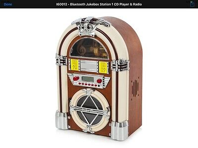 Bluetooth Jukebox Station 1 CD Player & Radio I60012