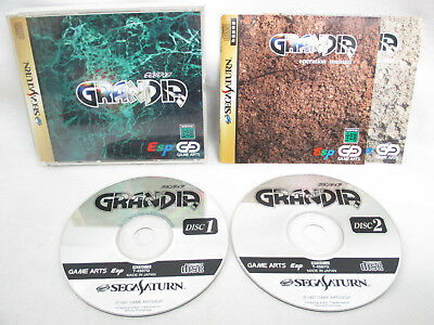 GRANDIA Sega Saturn RPG Soft ss