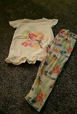 Girls Top and leggin outfit 5-6