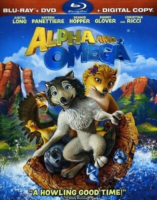 Alpha and Omega [New Blu-ray] With DVD, Widescreen, Ac-3/Dolby Digital, Digita