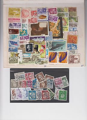 stamps - VARIOUS mixed selection ..B2