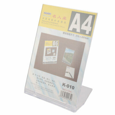 Office Business Exhibition Conference A4 Paper Name Card Product Display Holder