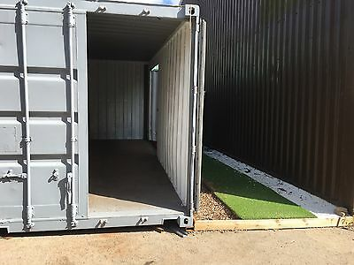Storage Shipping Container Display Room 20ftx8ft (with optional rental plot)