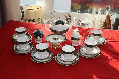 Royal Doulton Carlyle Bone China Tea Service. Mint condition. With you for xmas