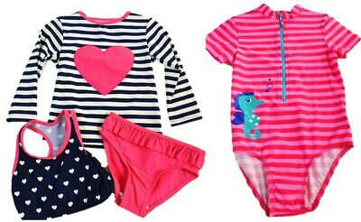 M&S UV Safe in the Sun swimsuit suit boys girls baby new top hat sunsuit SPF 40+