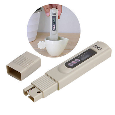 Portable LCD Digital Meter TDS TEMP PPM Water Purity Monitor Tester Pen Stick SU