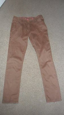 NEXT Girls Tan Trousers - Size 14 Years