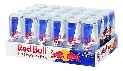 Red Bull Energy Drink, Original, 8.4-Ounce (Pack of 24)