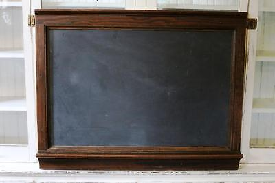 Antique School Chalkboard~Salvaged~Vintage~Blackboard Slate~Artifact~Urban Loft