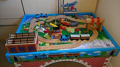 Thomas The Tank Engine Table and Wooden Train sets
