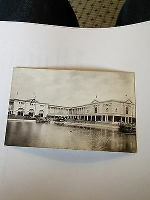 Imperial Services Exhibition Postcard Harbour and Ducal Hall Earls Court 1913